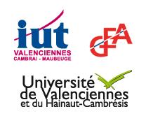Logo IUT GEA Valenciennes